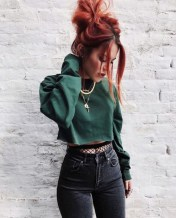 Grunge winter outfits