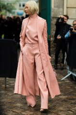 Millenial pink pieces approved for fall inspired by the model soo joo valentino outfit