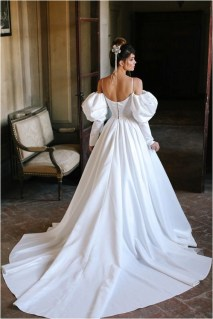 6 minimalist wedding dresses with puff source luxx novacom