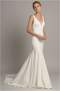 6 minimalist wedding dresses sourcegreenweddingshoescom