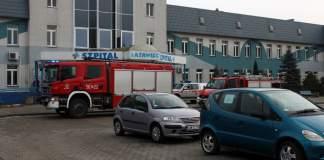 Akcja Straż Pożarnej w Szpitalu Latawiec