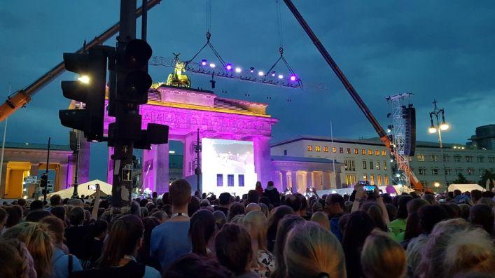 Eröffnungsfeier am Brandenburger Tor