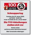 TVV-Schnuppertag am 19.Januar 2020