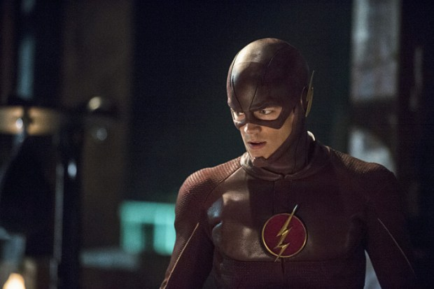 "The Flash -- ""The Flash is Born"" -- Image FLA106a_0037b -- Pictured: Grant Gustin as The Flash -- Photo: Cate Cameron/The CW"