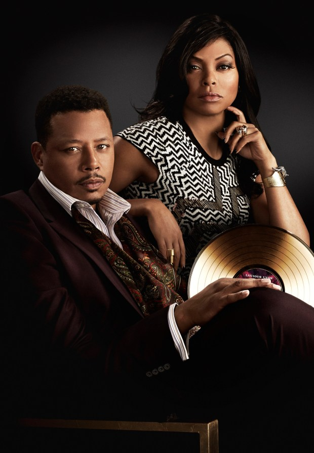 EMPIRE: The epic family battle begins when the sexy and powerful new drama EMPIRE debuts, with limited commercial interruption, following AMERICAN IDOL XIV on Wednesday, Jan. 7 (9:00-10:00 PM ET/PT) on FOX. Pictured L-R: Terrence Howard and Taraji P. Henson. ©2014 Fox Broadcasting Co. CR: Michael Lavine/FOX