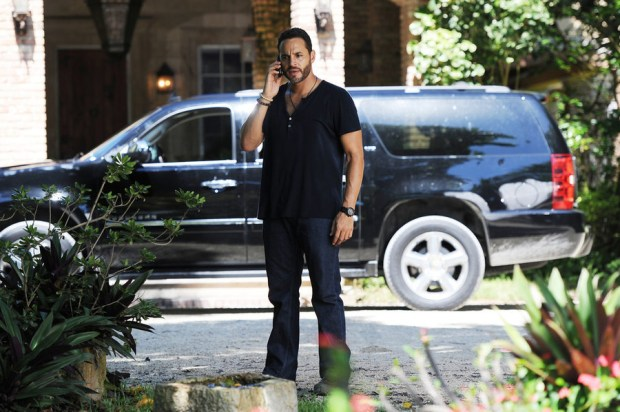 Pictured: Daniel Sunjata as Paul Briggs -- (Photo by: Jeff Daly/USA Network)