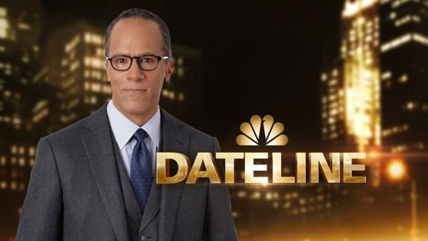 DATELINE NBC -- Season: 20 -- Pictured: Lester Holt, Dateline NBC -- (Photo by: NBC News)