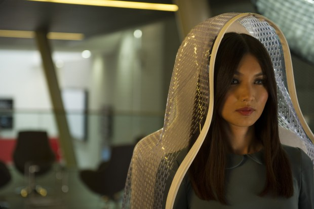 Gemma Chan as Anita - Humans _ Season 1, Episode 1 - Photo Credit: Des Willie/Kudos/AMC/C4