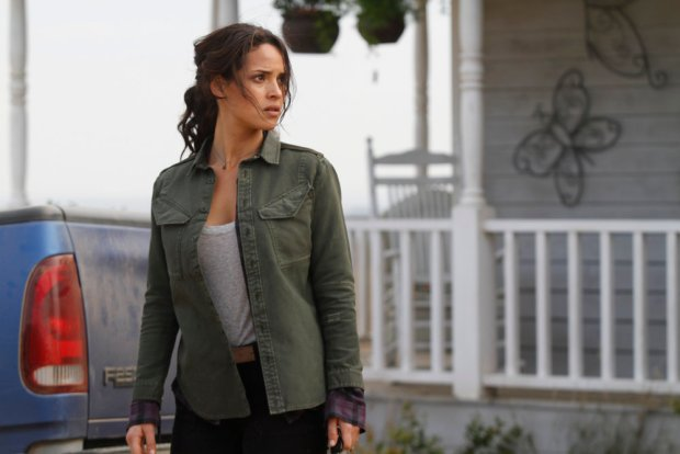 "EMERALD CITY -- ""The Beast Forever"" Episode 101 -- Pictured: Adria Arjona as Dodorthy -- (Photo by: Rico Torres/NBC)"