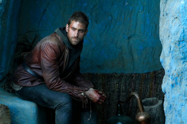 "EMERALD CITY -- ""Prison of the Abject"" Episode 102 -- Pictured: Oliver Jackson Cohen as Lucas -- (Photo by: Rico Torres/NBC)"