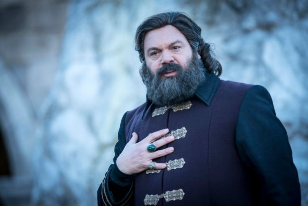 "EMERALD CITY -- ""The Beast Forever"" Episode 101-- Pictured: Vincent D'onofrio as The Wizard -- (Photo by: David Lukacs/NBC)"