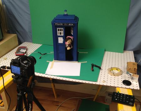 Doctor Puppet Special In production