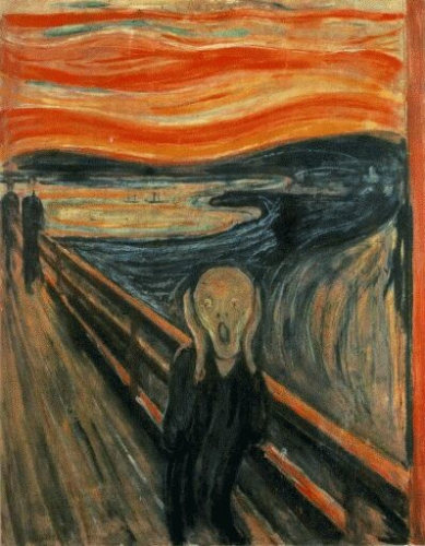 the scream image yet again