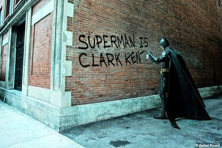 Batman-graffiti