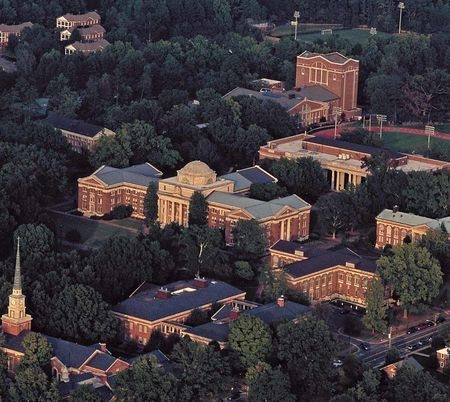 Beautiful Campus - But Not Ours. Ours is Virtual. And a Lot Less Expensive.