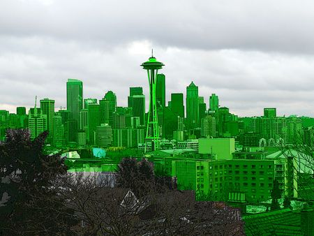 "Some people call Seattle ""Emerald City."" I call it Bob."