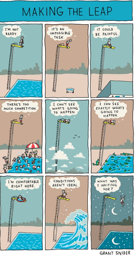 "Grant Snider's ""Incidental Comics"" does it again!"