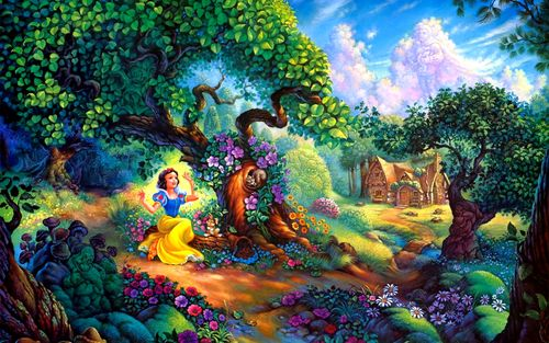 snow-white-in-the-magic-forest229536