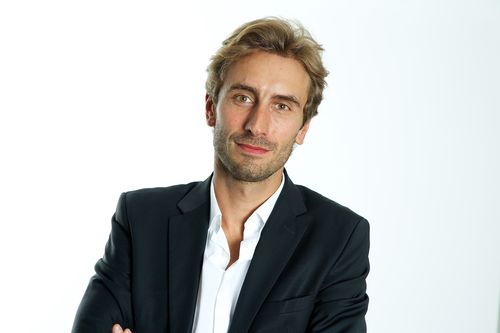 Matthieu Viala, CEO of French drama producer Makever - and kind of a hottie,  no?