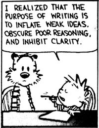 Calvin-on-writing