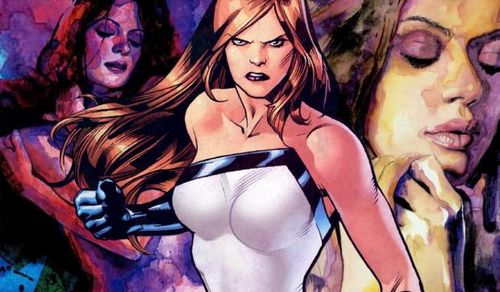 Judging from this pic, when Jessica Jones sez she's gonna kick our butts, she means it.