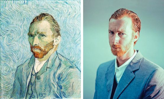 """Self Portrait 1889? remake by Seth Johnson"