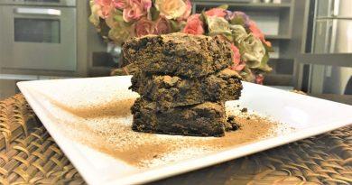 Brownie de chocolate com apenas 6 ingredientes