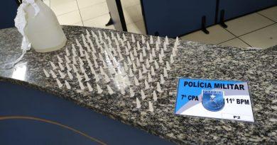 Tráfico de Drogas no São Jorge leva dois presos