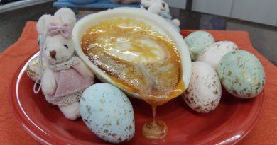 Aprenda fazer um delicioso ovo pudim de leite condensado