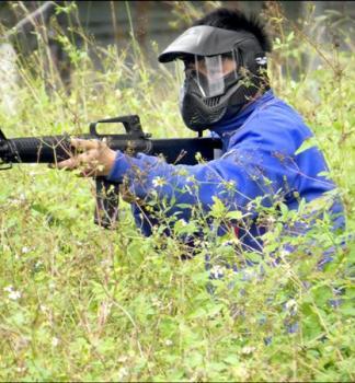 定向生存體驗 學生BB槍仿真實戰
