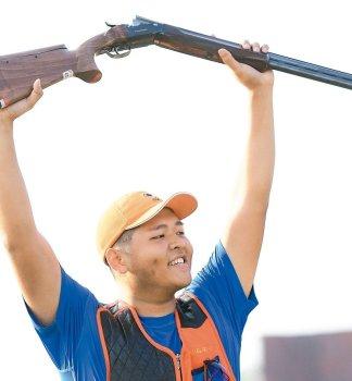 射擊/楊昆弼 童年BB槍玩出金牌