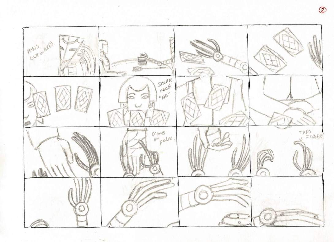 iAniMagic Animation Contest Beck Williams Storyboard