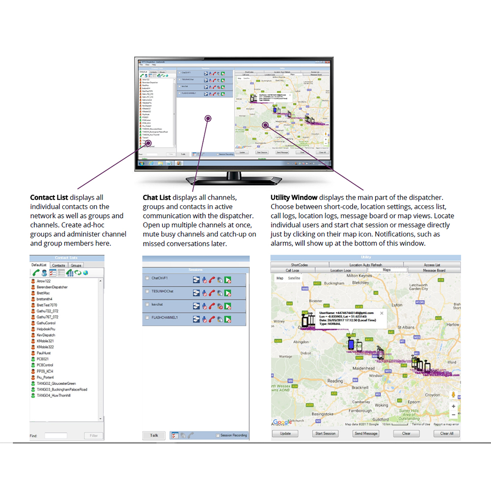 SYMPOC Dispatcher Software