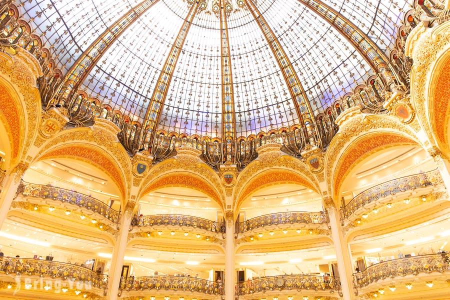 【巴黎購物】老佛爺百貨/拉法葉百貨逛街技巧&生鮮超市美食區(Lafayette Gourmet) | BringYou