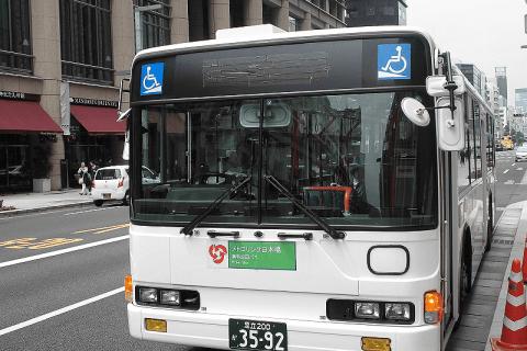 乘坐免費巴士「Metro link」一起觀光東京站至日本橋一帶吧!