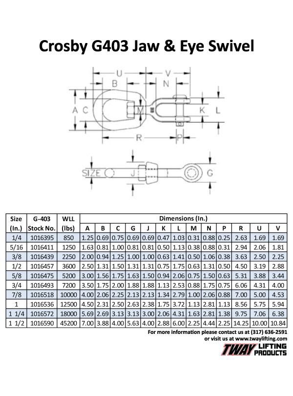 crosby hook diagram wiring schematic diagram Crosby Hook Diagram