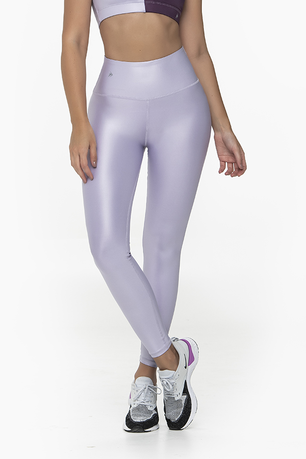 Leather Look Lilac Legging