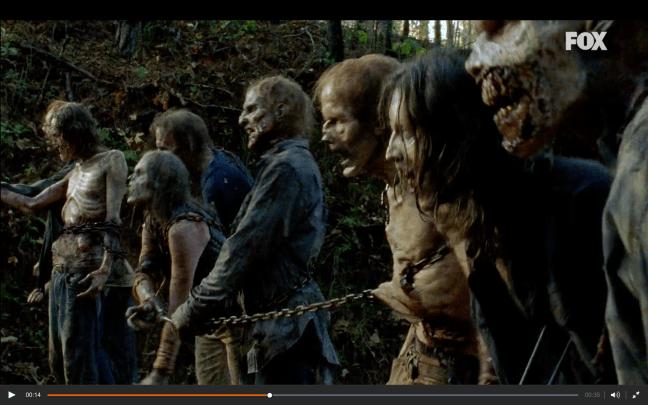 La catena di zombie