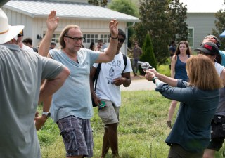 the-walking-dead-episode-608-bts-greg-nicotero-deanna-feldshuh-935