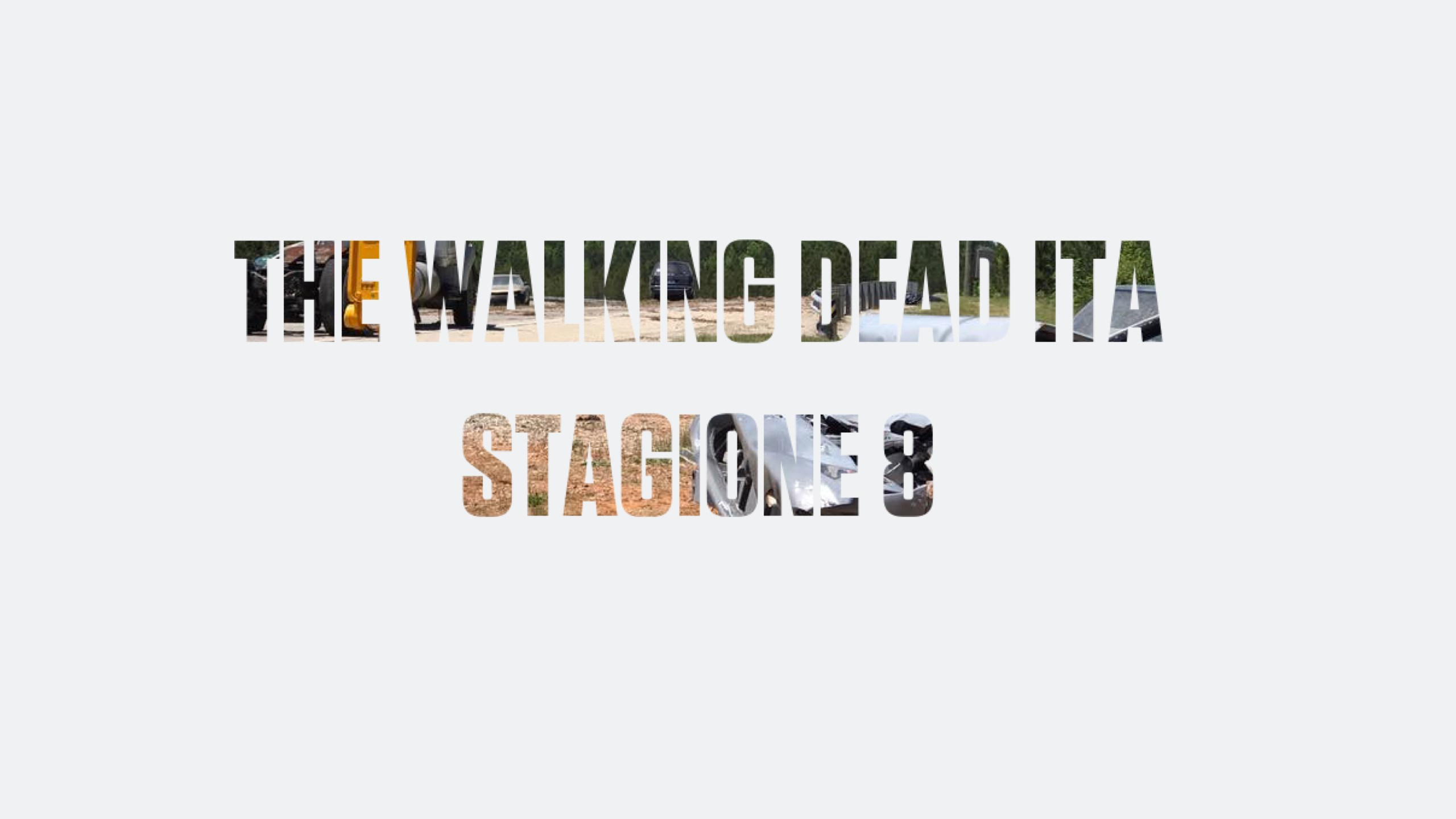 Prime Foto dal Set dell'Ottava Stagione di The Walking Dead [mini-SPOILER]