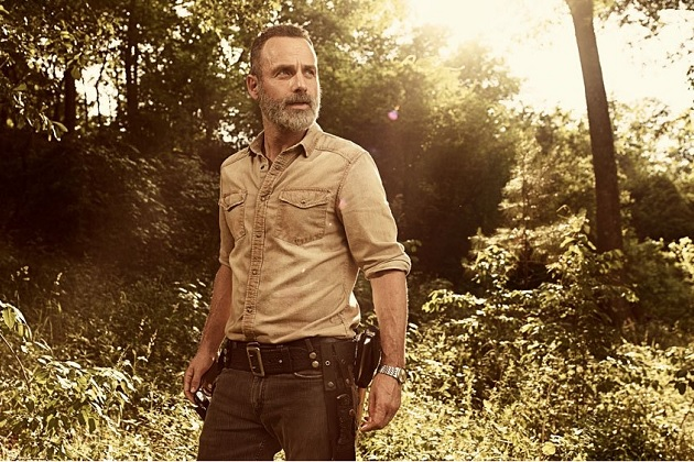 Andrew Lincoln é Rick Grimes