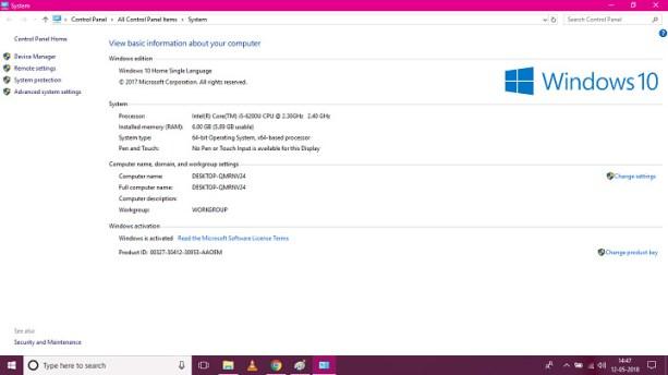 windows 10 rs4 v1804