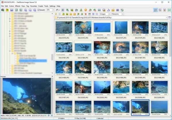 FastStone Image Viewer - Downloads en Updates - Tweakers