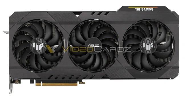 Render ASUS Radeon RX 6700 XT TUF Gaming OC via VideoCardz