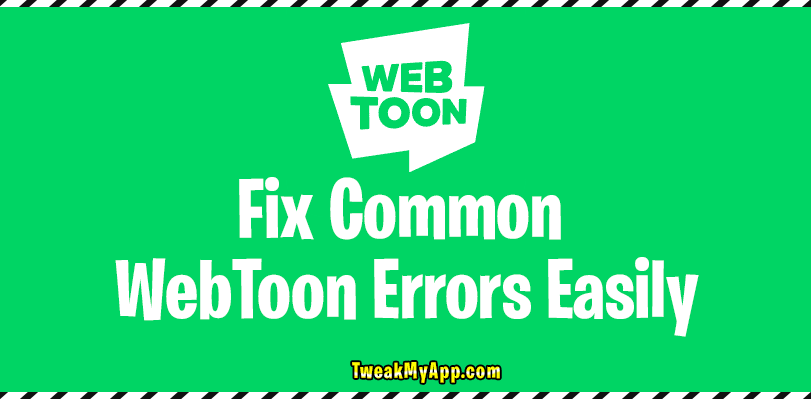 Webtoon-app-not-working-fix
