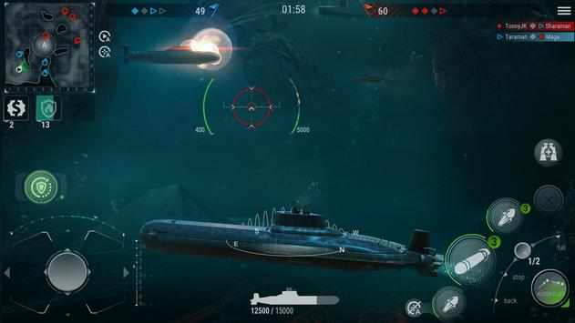 WORLD of SUBMARINES: Navy Shooter 3D Wargame poster