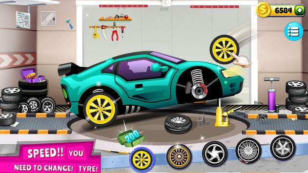 Modern Car Mechanic Offline Games 2020: Car Games poster