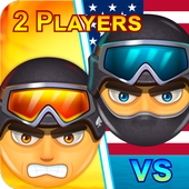 2 players battle icon