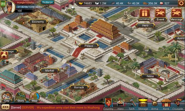 Three Kingdoms Original screenshot 1