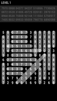 Number Search Puzzles screenshot 1